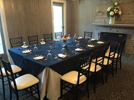 board room at Statesville country club