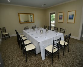 Private dining room at Statesville Country Club